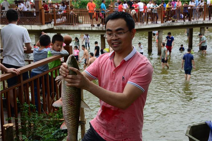 五一假期出游,如果能够抱一条回家多爽,去佛山渔耕文化园吧