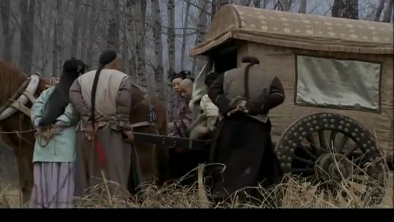 葛松儿带着何文进双宿双飞,不料前面就是悬崖,和珅来得及救人吗