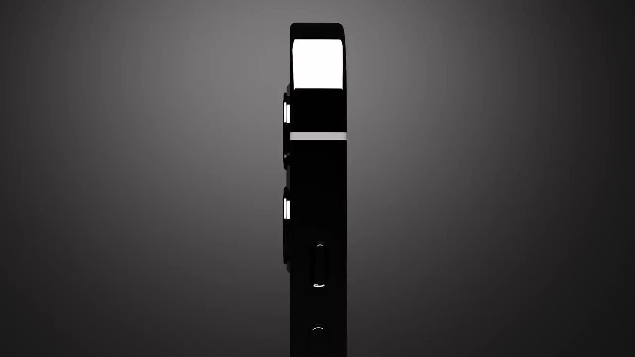 iPhone 13 Pro渲染:全面屏 + 副屏,激进设计!