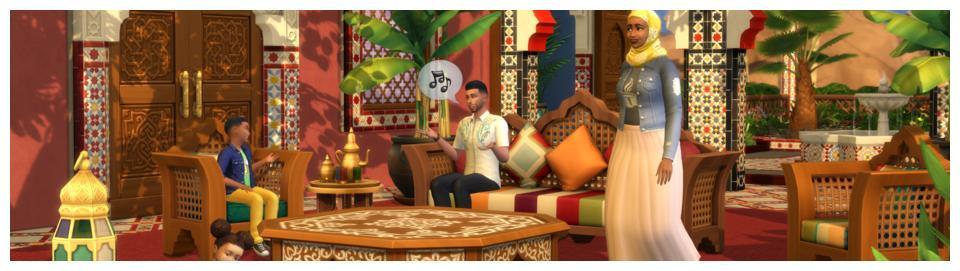 《模拟人生4》DLC庭院绿洲5月19日上市