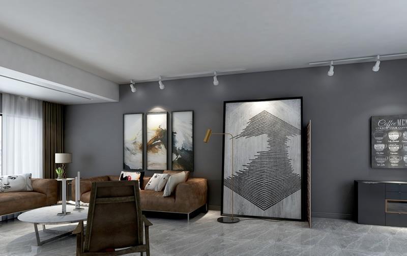 120平米的房子装修要多少钱?现代气势风格四居室设计描述