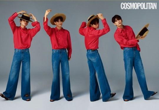 邕圣祐首次单独登上时尚写真杂志封面模特 表示想成为谁的初恋