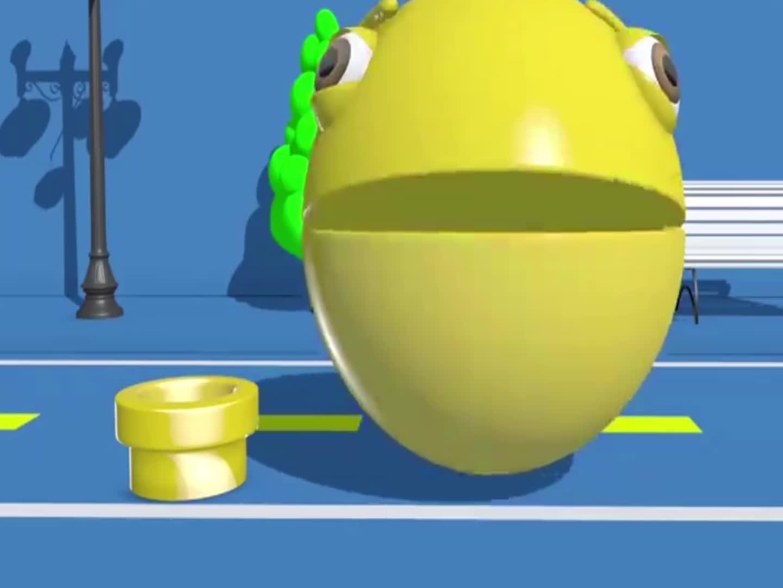 球球吃棒棒糖,益智动画学颜色