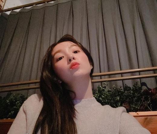 Red Velve裴珠泫美貌撼动粉丝的心 展示女神般的美貌