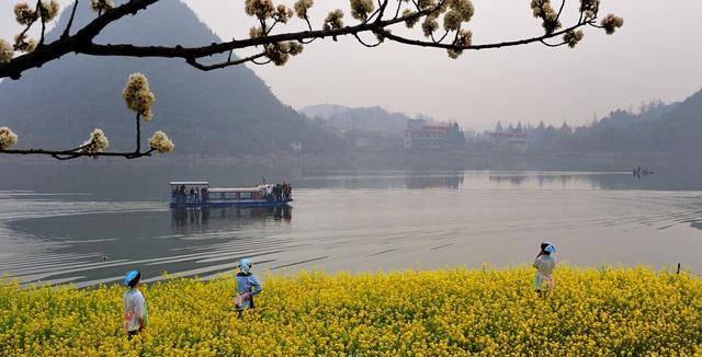 贵州全天开放的湖泊,湖中岛屿108个,错落有致