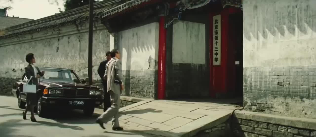 牧马人:华侨企业家回到故乡,还是学校当年那个大门!