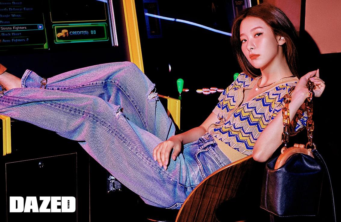 Red Velvet小分队姜涩琪高清写真 将偶像生活与出道前期待相提并论