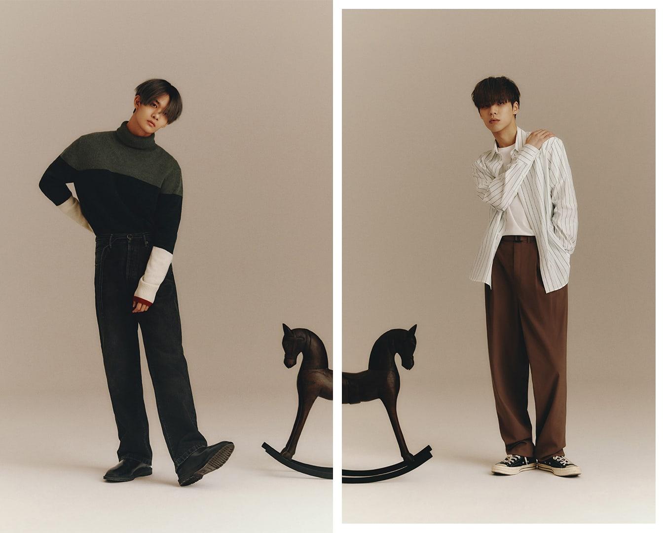 韩国男团组合CIX裴珍映和李炳坤谈论新专辑回归准备和他们不同的个性