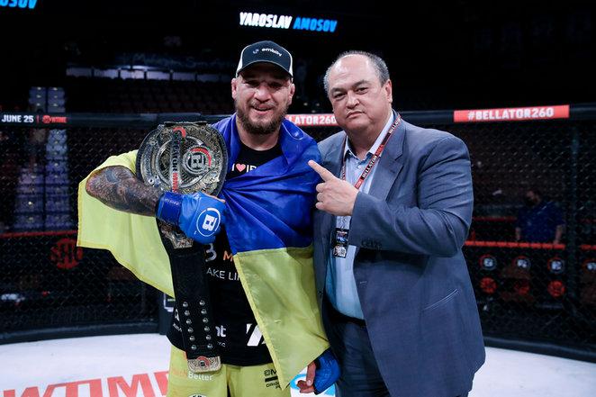 2021年6月12日Bellator 260期 – 直播战报[全程视频] Lima vs. Amosov