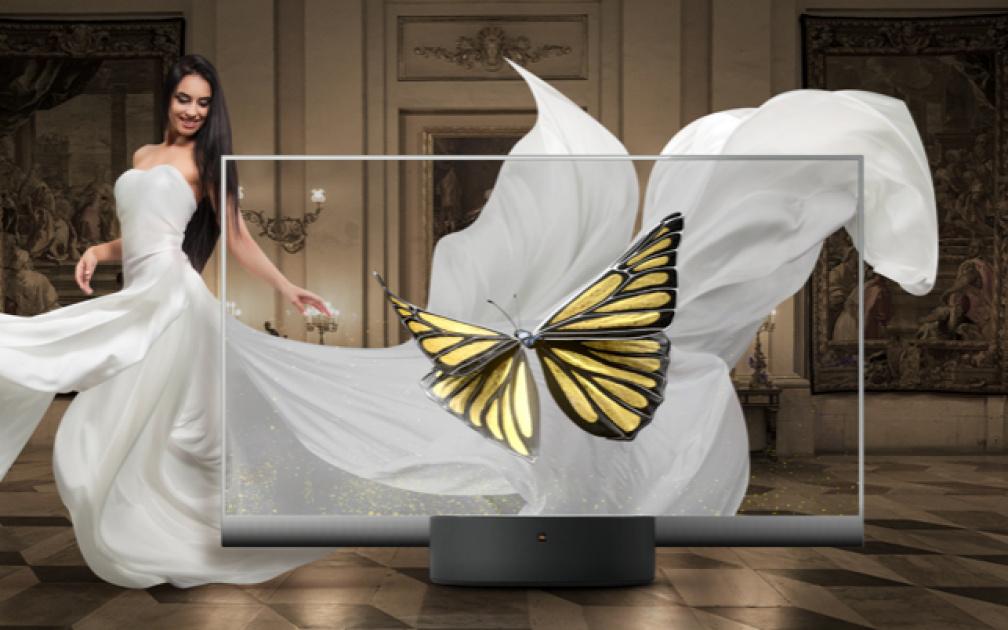 小米发布全球首款量产透明电视 55英寸透明oled屏幕价格为49999元