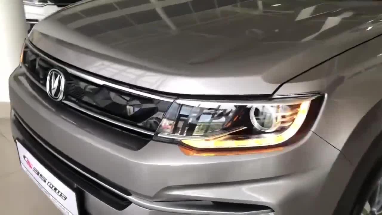 视频:2020款长安CS35Plus到店,拿到钥匙坐进车内,我忘了哈弗H6