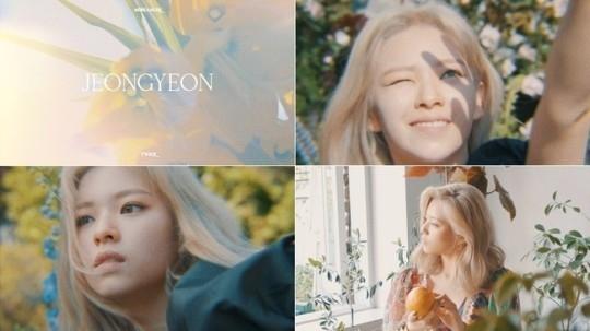 TWICE俞定延第9张迷你专辑《MORE&MORE》概念短片&预告图公开