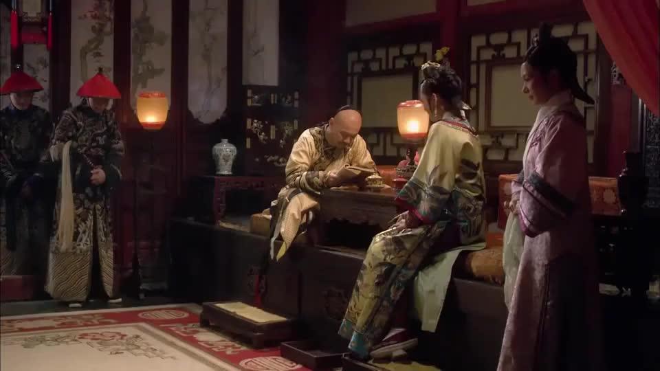 甄嬛传:安陵容油嘴滑舌,没想到甄嬛一语中的,被雍正请去唱歌了