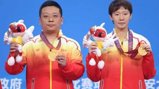 王曼昱横扫奥运冠亚军摘全运首金,她说奥运会令自己升华