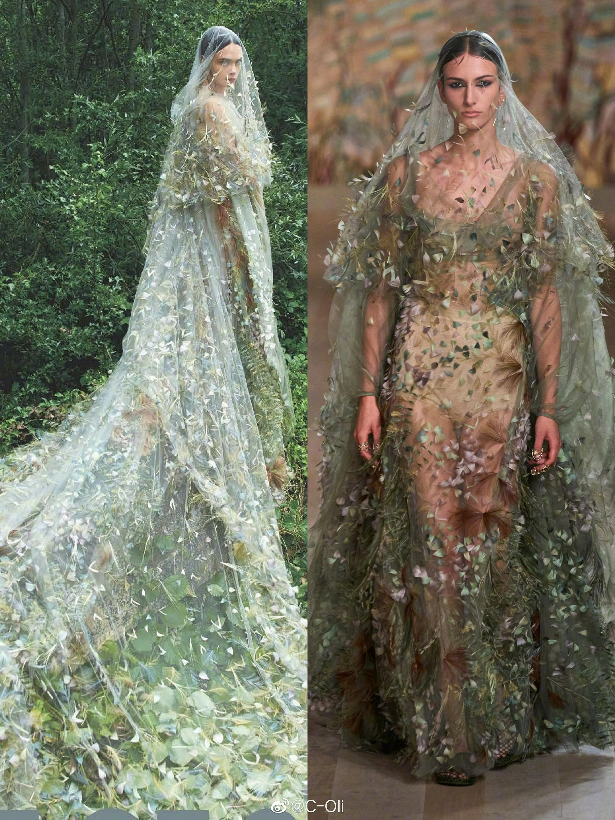 演员、超模Cara Delevingne身着Dior……