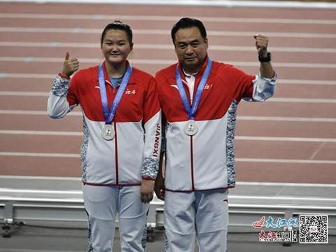 江西选手李江燕获全运会女子链球亚军