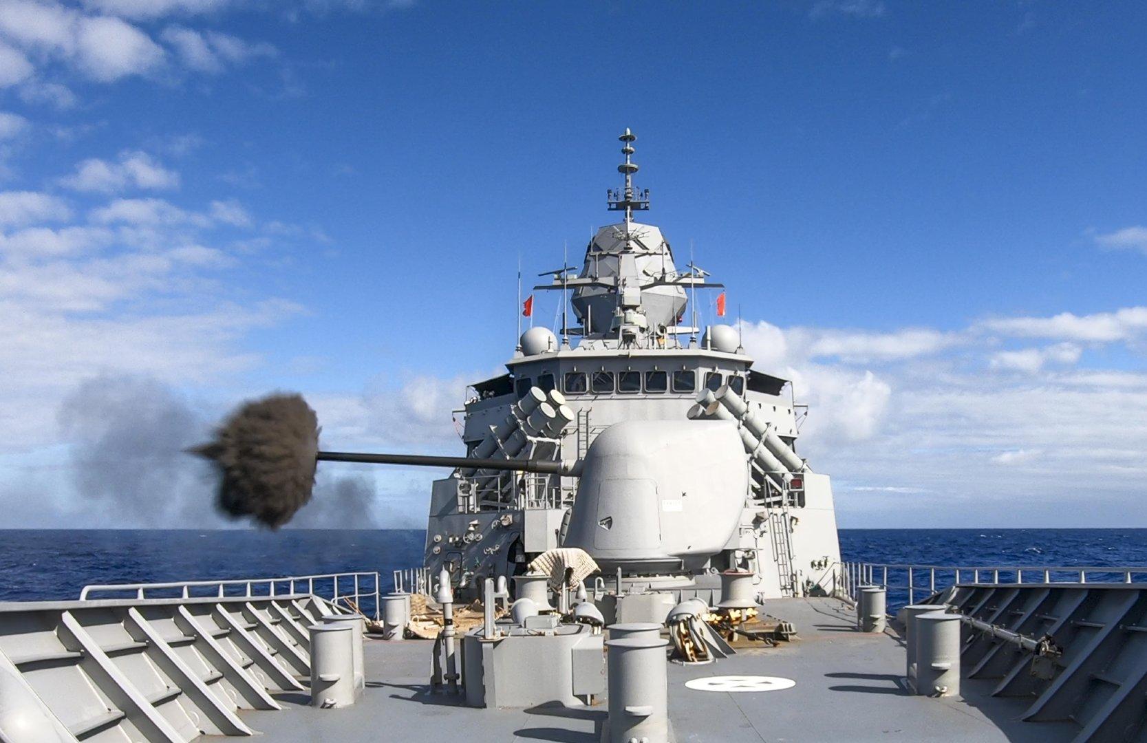 澳大利亚海军参加环太平洋2020军事演习
