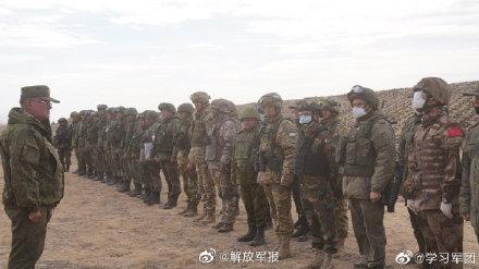 """""""和平使命-2021""""上合组织联合反恐军演实兵实弹演习"""