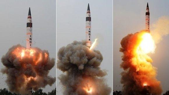 印度成功试射射程5000公里导弹,印媒:向中国发出强烈战略信号