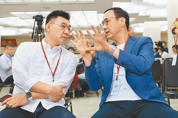 传朱立伦下周宣布参选中国国民党主席 与连胜文结盟机率高
