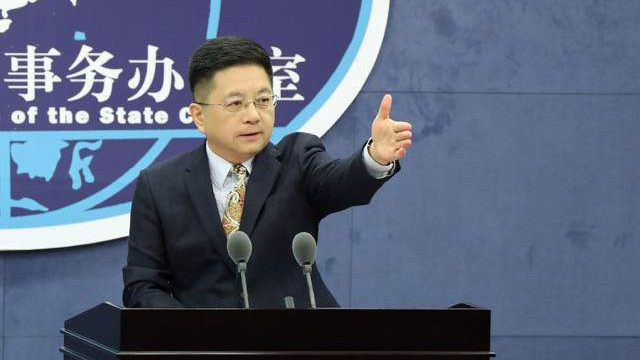 台湾嘴硬:我们没有草莓兵,国台办:不承诺放弃使用武力
