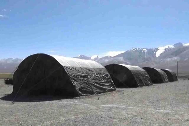 中印边境疑似又爆发突变,解放军边境重兵集结,大规模营房被确认