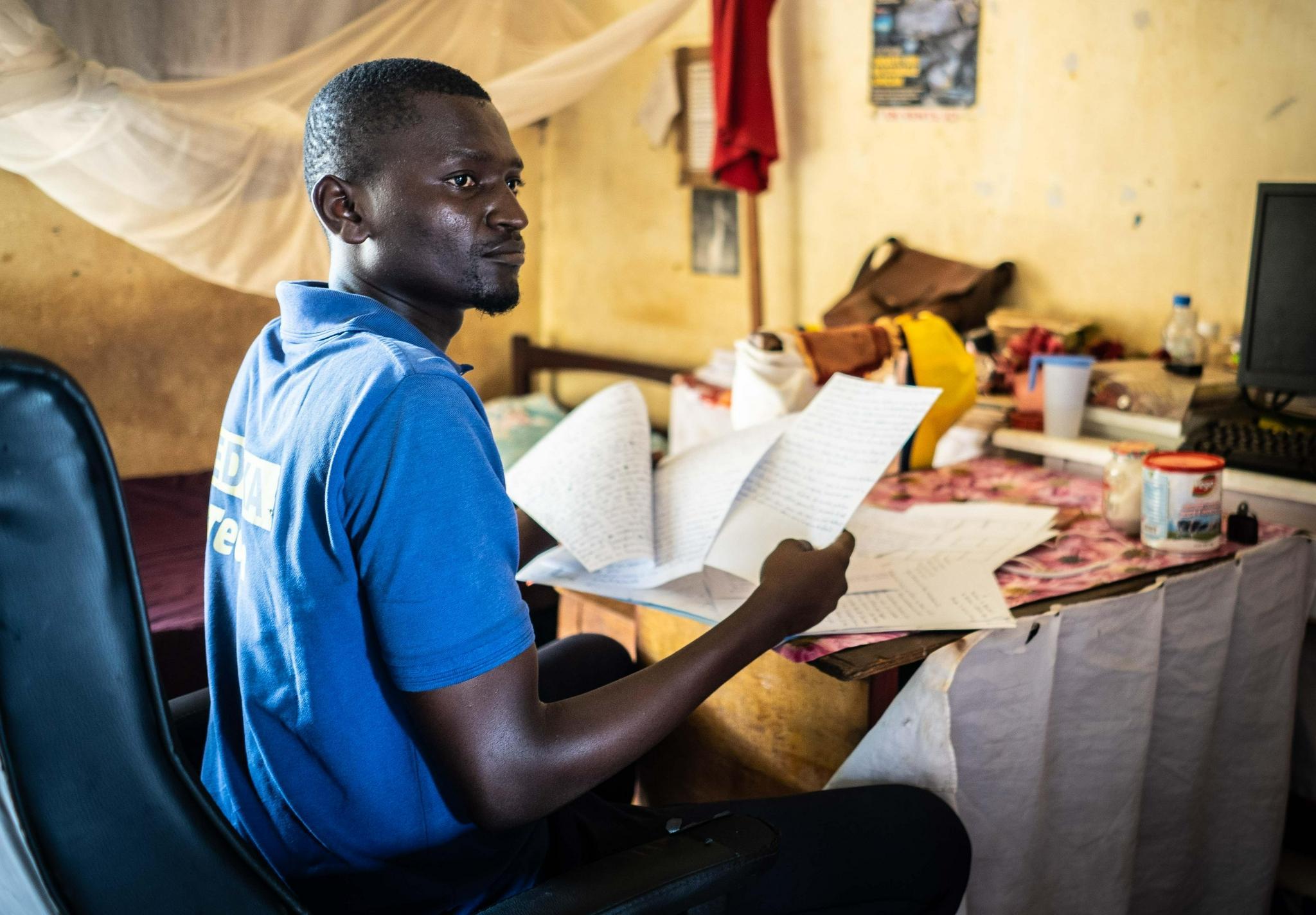 中非:大学生求学之路