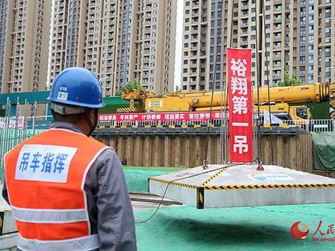 石家庄110千伏裕翔城市智慧变电站进入全装配式施工阶段