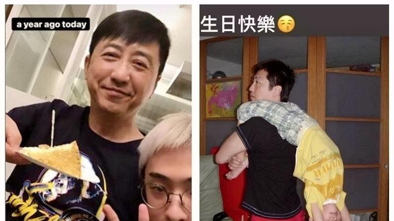 哈利为父亲庆生,庾澄庆和儿子对镜微笑状态好,吴莫愁也留言祝福
