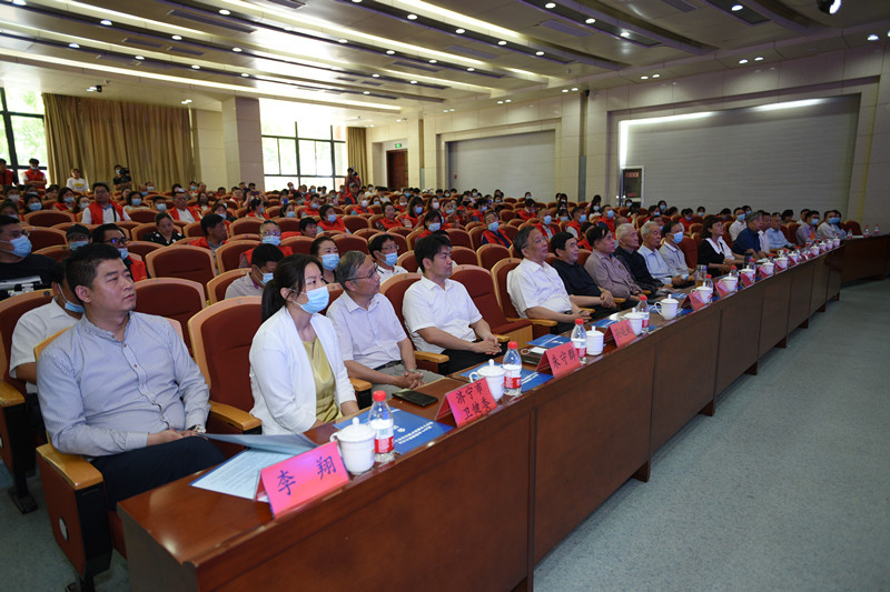 第26个全国爱眼日活动暨济宁市爱眼护眼协会成立大会在济宁职业技术学院隆重召开
