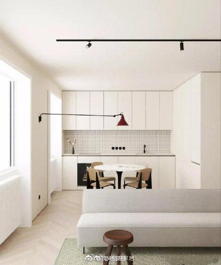 分享图片66 m 2简约家居设计 喜欢这种简约的美~温馨美好