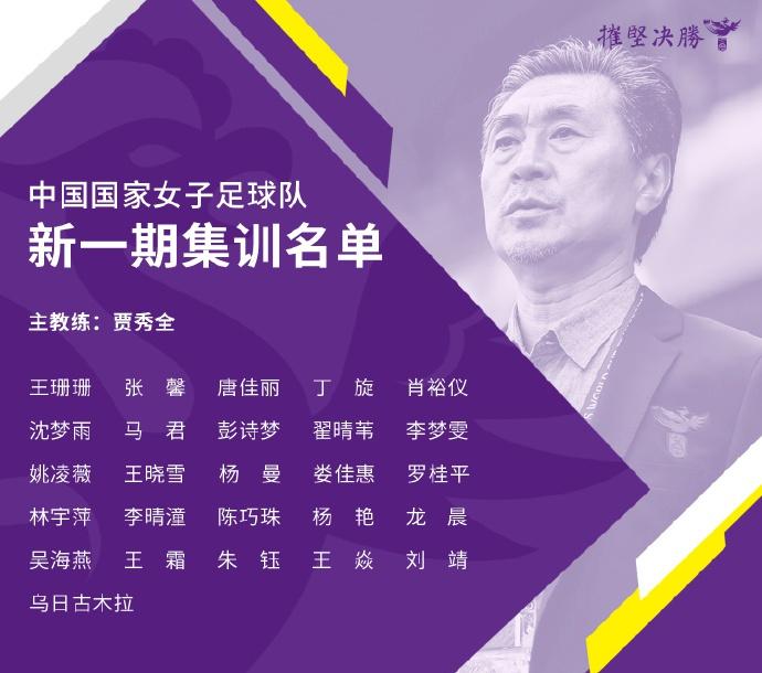 中国女足东京奥运会集训名单公布 王霜领衔26战将