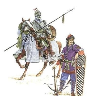 突厥摆脱柔然后成为草原霸主,还曾派人与罗马订立通商条款