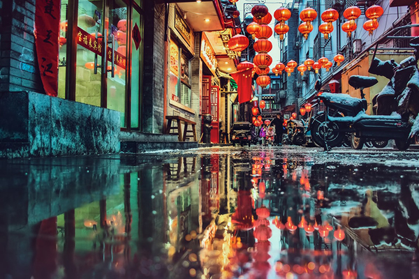 """烟台市开发区潮水镇村级廉政文化墙 润""""廉""""细无声"""