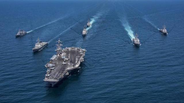 外媒预测2030台海冲突:解放军无人装备干掉台军空防,打跑美航母