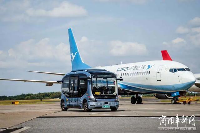 赋能智慧机场,宇通无人驾驶巴士进驻长沙黄花国际机场