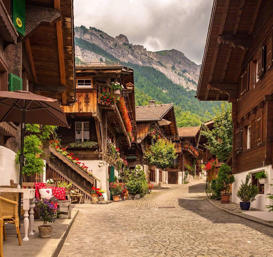 宁静的瑞士小镇生活!