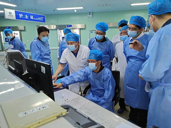 华中科大同济医院专家团队赴十堰开展医疗救治