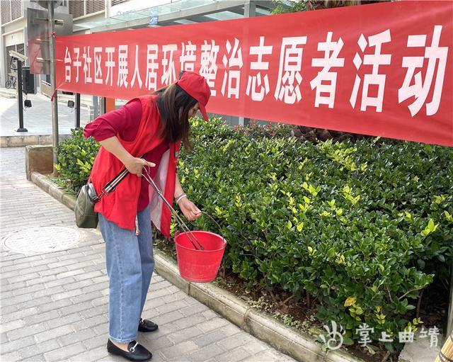 曲靖日报社联合多部门开展志愿服务活动