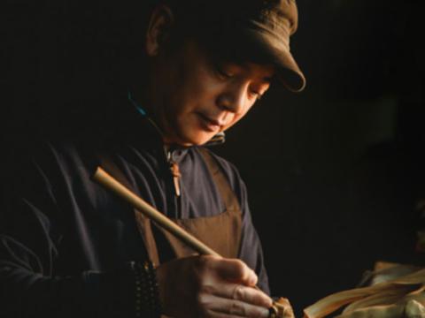 从细节讲故事,吴尧辉的黄杨木雕艺术