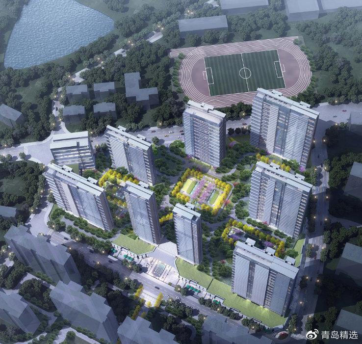 青岛银丰玖玺城住宅地块与商办地块规划方案出炉
