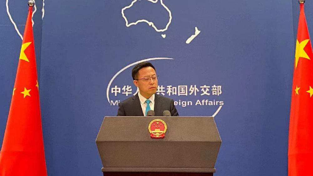 赵立坚答深圳卫视记者:美方抹黑新疆棉花是其惊天阴谋的一部分