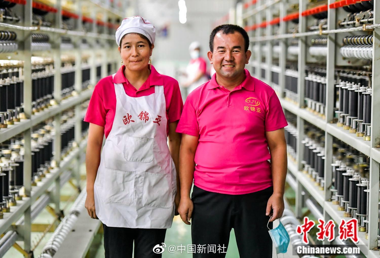 欧宝官网:新疆策勒纺织厂的农民变成了产业工人 互相合作成为模范岗位
