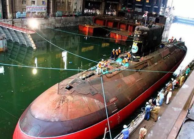 印度海军攻击核潜艇国产化率将达到95%?但还少不了向战略伙伴国求助!
