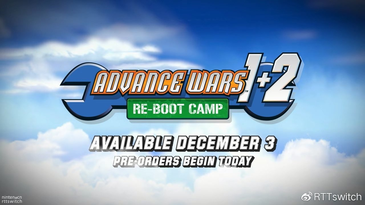 《高级战争1+2复刻版》12月3日登陆Switch