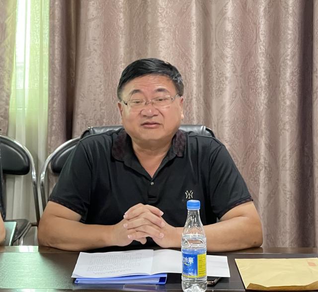九江市第三中学迎接市教育局开学工作检查