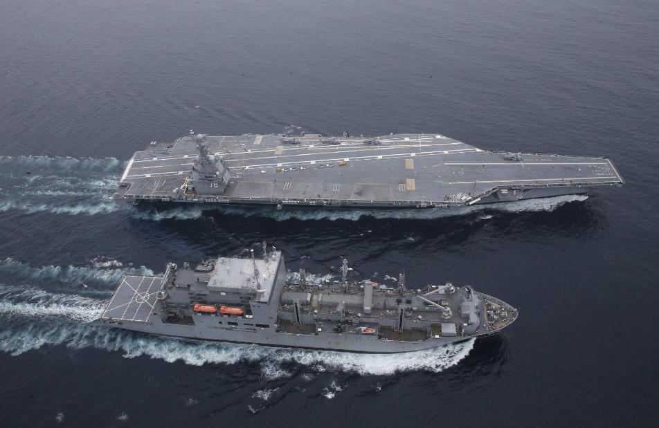 """120000吨航母亮相,可连续航行1000天,比""""福特""""级还厉害?"""