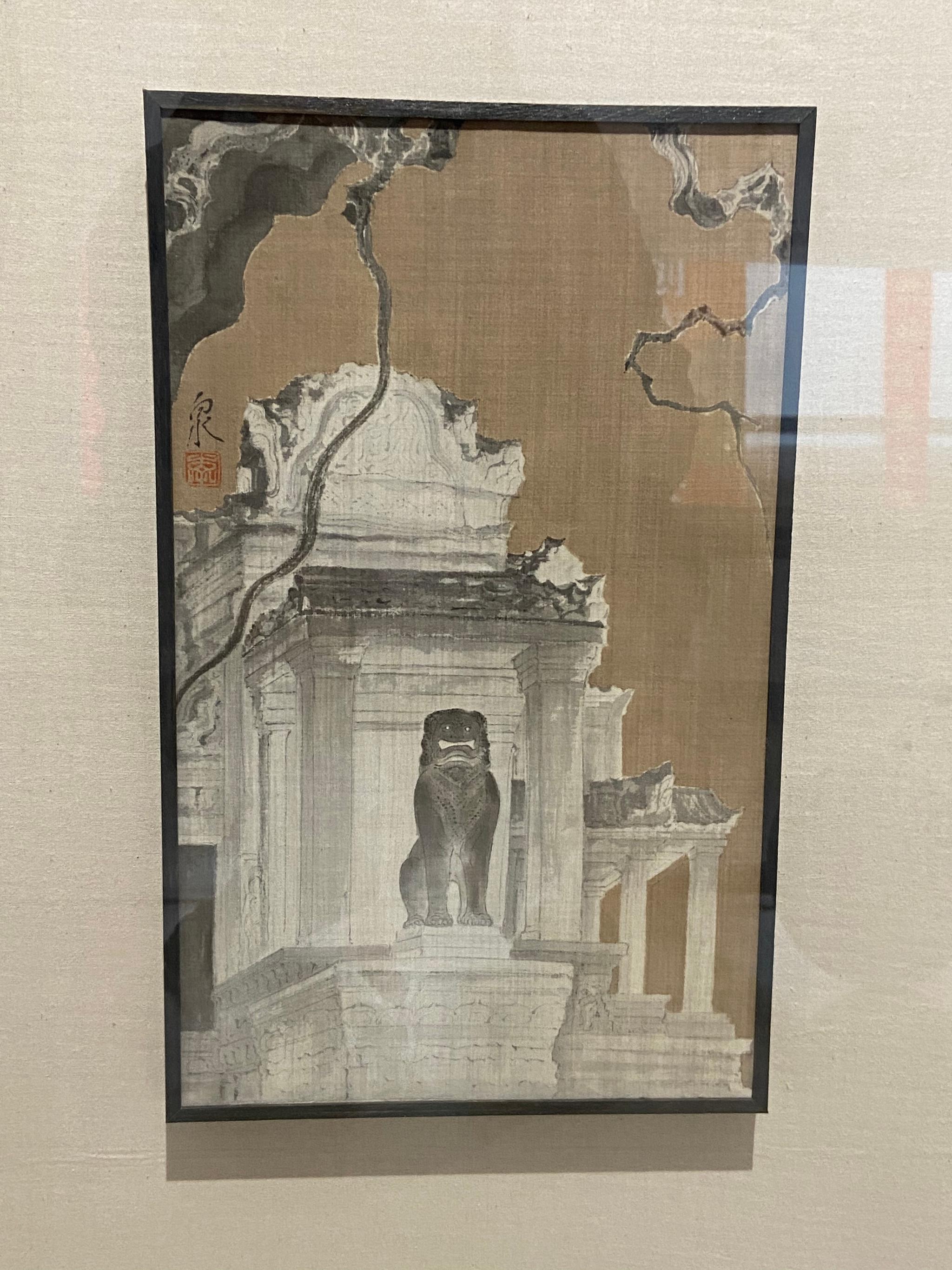 国画艺术真是小众艺术么,江苏省国画院的画展规格还是蛮高的……