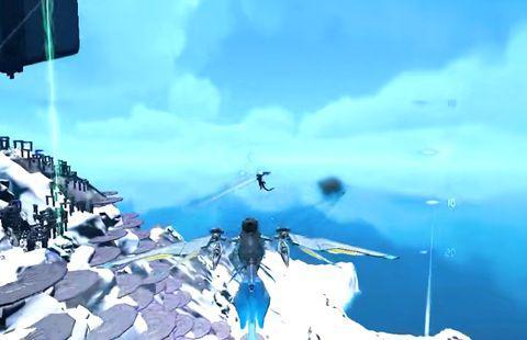 Steam沙盒游戏推荐,《方舟:创世第二季》的虚空海豚很强大