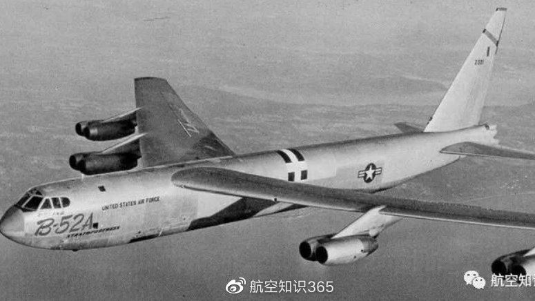 """B-52""""同温层堡垒""""远程战略轰炸机"""